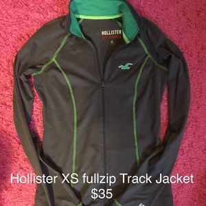 Hollister XS Track Jacket